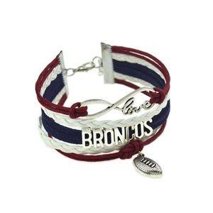 Jewelry - 5/$25 ⭐️NFL Denver Broncos bracelet